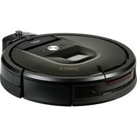Roomba 980 aspirapolvere robot 0,6 L Senza sacchetto Nero, Marrone, Aspirazione robot