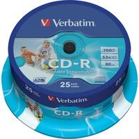 43439 CD vergine CD R 700 MB 25 pezzo(i), CD supporti vergine