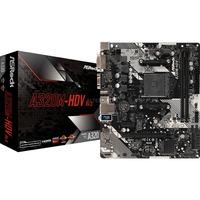 A320M HDV R4.0 AMD A320 Presa AM4 micro ATX, Scheda madre