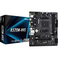 A520M HVS AMD A520 Presa AM4 micro ATX, Scheda madre
