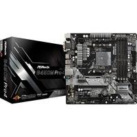 B450M Pro4 AMD B450 Presa AM4 micro ATX, Scheda madre
