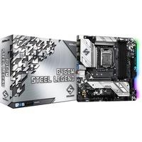 B460M Steel Legend Intel B460 LGA 1200 micro ATX, Scheda madre