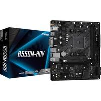 B550M HDV AMD B550 Presa AM4 micro ATX, Scheda madre