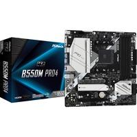 B550M Pro4 AMD B550 Presa AM4 micro ATX, Scheda madre