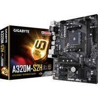 GA A320M S2H scheda madre AMD A320 Presa AM4 micro ATX