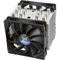 Mugen 5 PCGH Edition Processore Refrigeratore 12 cm Nero, Argento, raffreddamento CPU