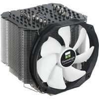 Le Grand Macho RT Processore Refrigeratore 14 cm Nero, Bianco, raffreddamento CPU