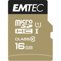 microSD Class10 Gold+ 16GB memoria flash MicroSDHC Classe 10, Scheda di memoria