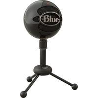 Snowball Nero Microfono da tavolo