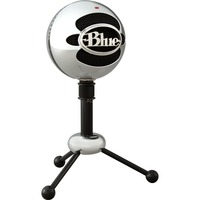 Snowball Nero, Cromo Microfono da tavolo
