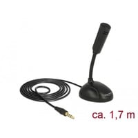 Image of 65872 microfono Nero Microfono per cellulare/smartphone