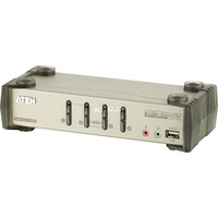 CS1734B switch per keyboard video mouse (kvm) Argento, Switch KVM