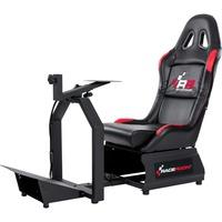 RR3055 Sedia per gaming universale Nero, Rosso, Sedili di gioco