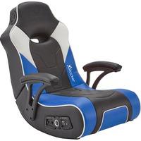 G Force Sport 2.1 Poltrona per gaming Seduta imbottita Nero, Blu, Grigio, Sedili di gioco