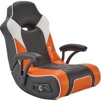 G Force Sport 2.1 Poltrona per gaming Seduta imbottita Nero, Grigio, Arancione, Sedili di gioco
