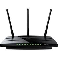 Archer C7 router wireless Gigabit Ethernet Dual band (2.4 GHz/5 GHz) Nero