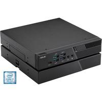 Image of 90MS01L1-M02480 PC/stazione di lavoro DDR4-SDRAM i7-9700T mini PC Intel® Core™ i7 di nona generazione 8 GB 256 GB SSD Windows 10 Pro Nero, Mini-PC