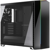 Vector RS Tempered Glass Tower Nero, Trasparente, Chassis Tower