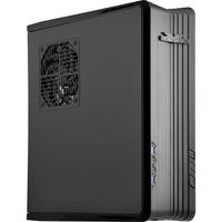 Image of RAVEN vane portacomputer Basso profilo (Slimline - stilizzato) Nero, Alloggiamento desktop