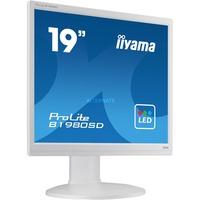 "Image of ProLite B1980SD-W1 LED display 48,3 cm (19"") 1280 x 1024 Pixel Bianco, Monitor LED"