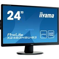 "Image of ProLite X2483HSU-B3 LED display 60,5 cm (23.8"") 1920 x 1080 Pixel Full HD Nero, Monitor LED"