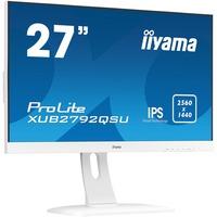 """Image of ProLite XUB2792QSU-W1 LED display 68,6 cm (27"""") 2560 x 1440 Pixel Quad HD Bianco, Monitor LED"""