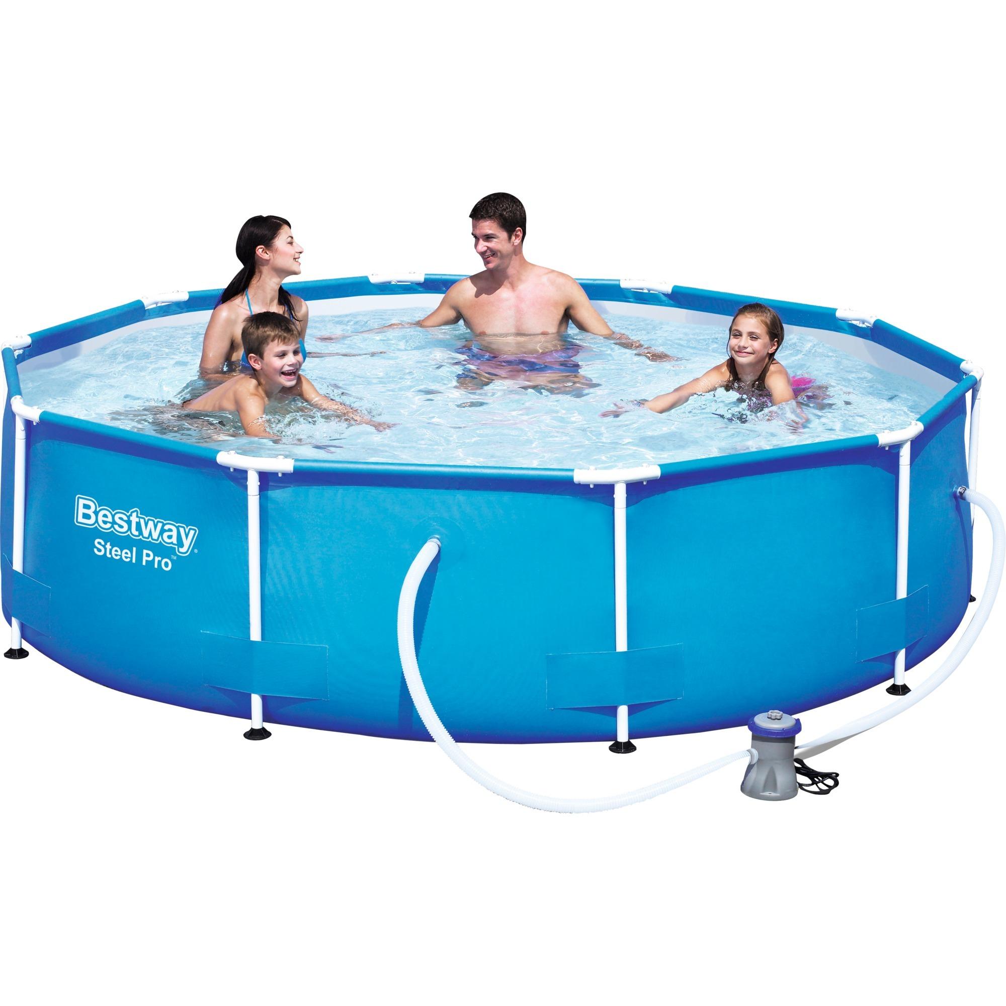 Bestway piscina steel pro frame 2 39 x trova prezzi - Manutenzione piscina fuori terra bestway ...