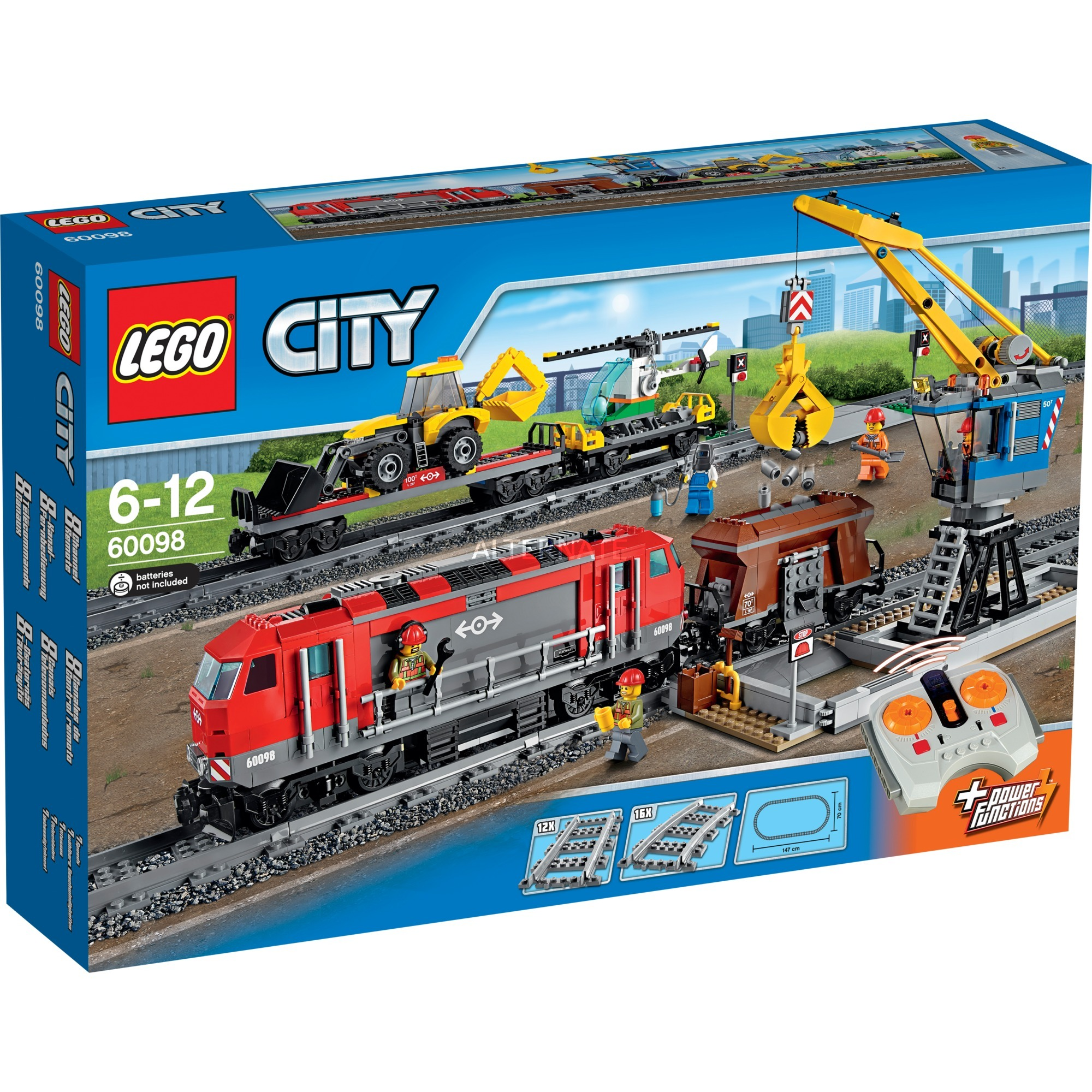 60098 - Treno trasporto pesante per 143,89€ incl. spedizione