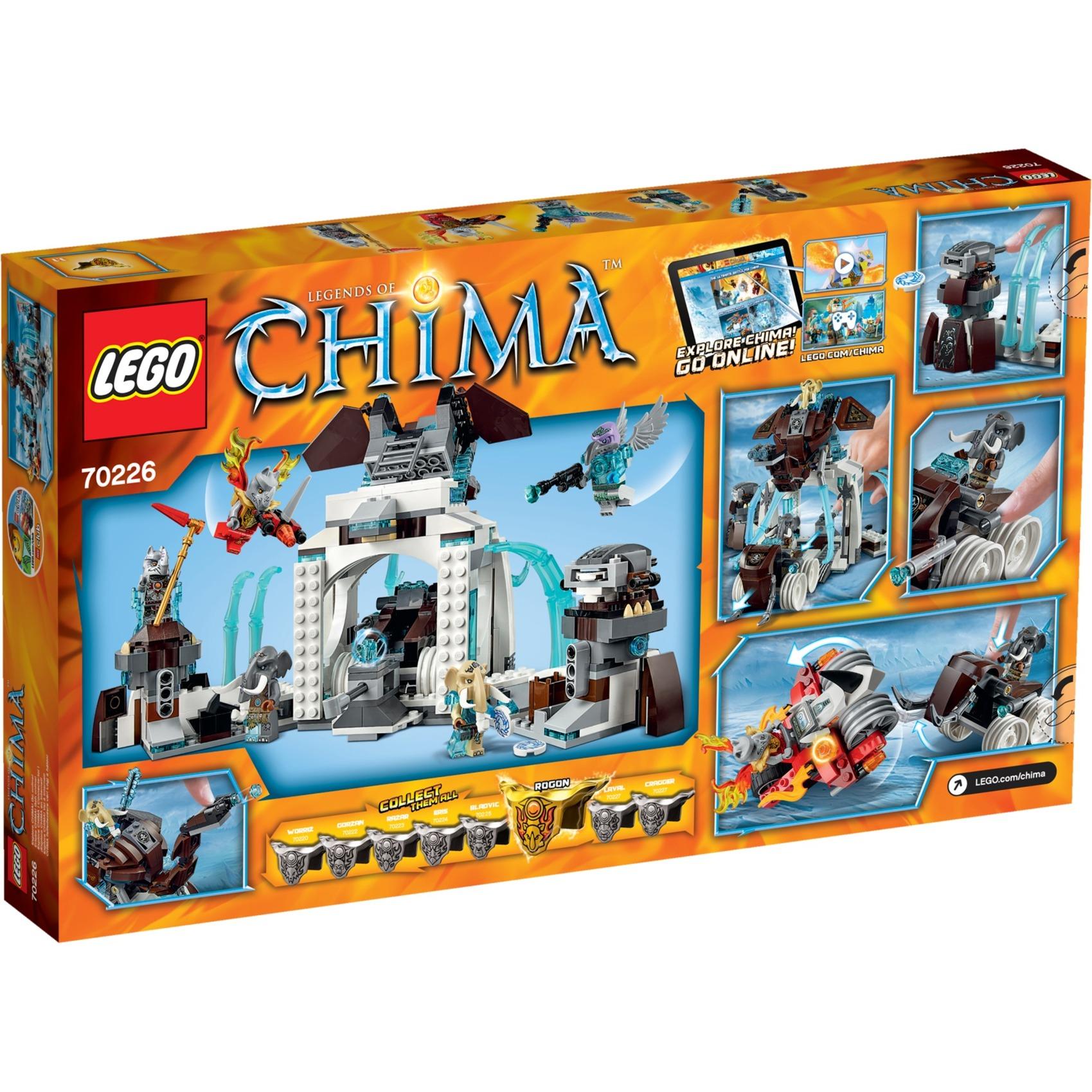 Prezzo scontato Lego Chima 70226 - La roccaforte di ghiaccio dei Mammut