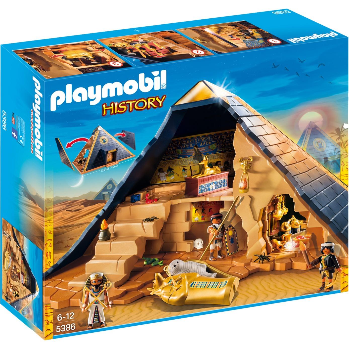Grande Piramide del Faraone, Giochi di costruzione...