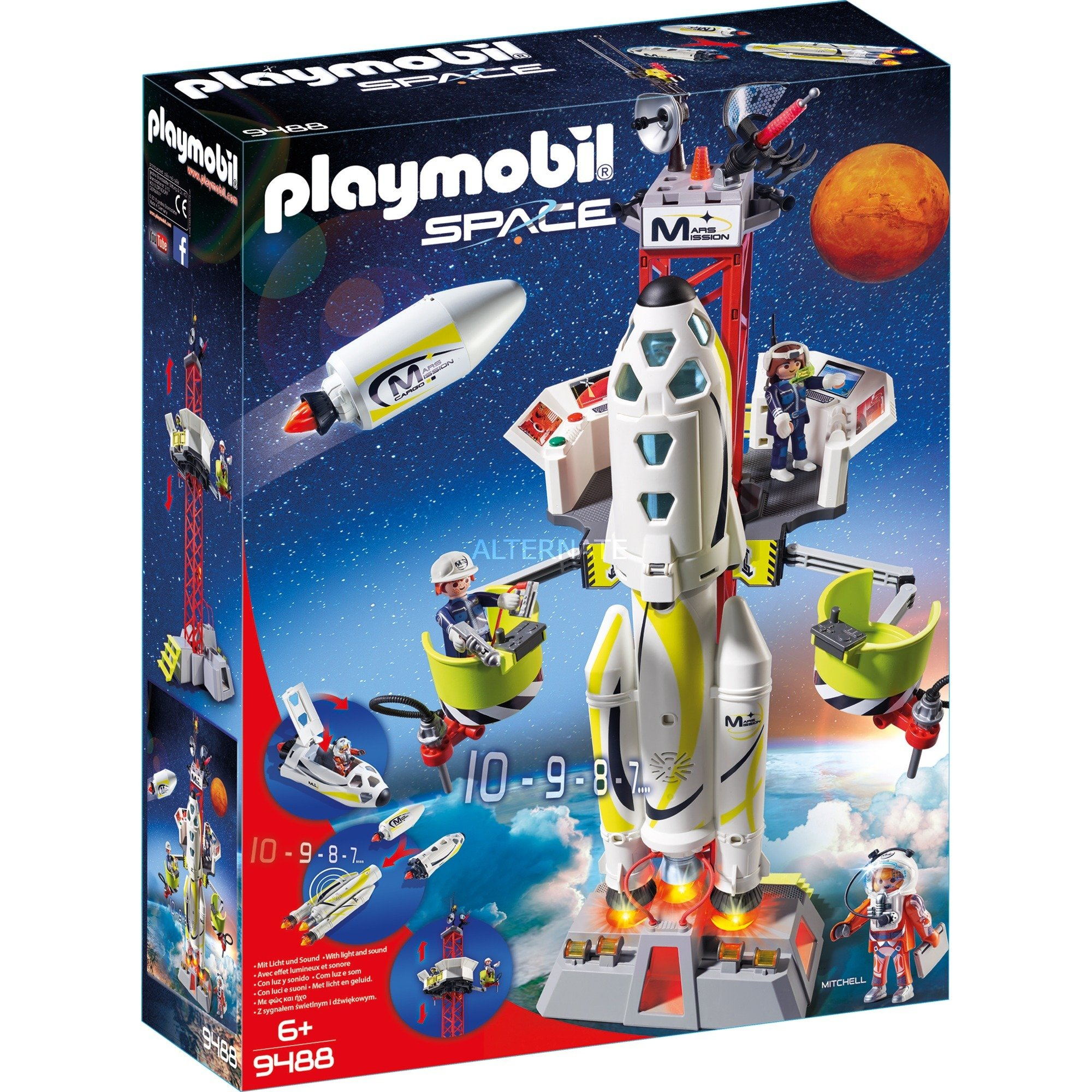 Mission Rocket with Launch Site, Giochi di...