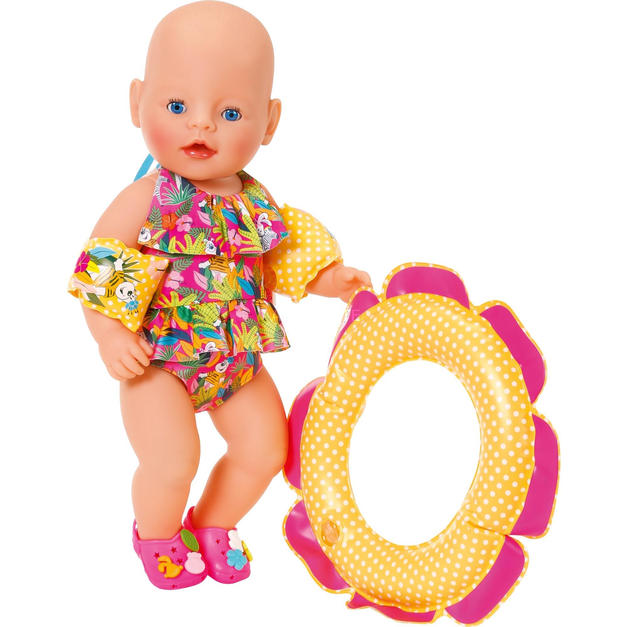 Zapf BABY born® Play&Fun Deluxe Schwimm Set Puppen & Zubehör