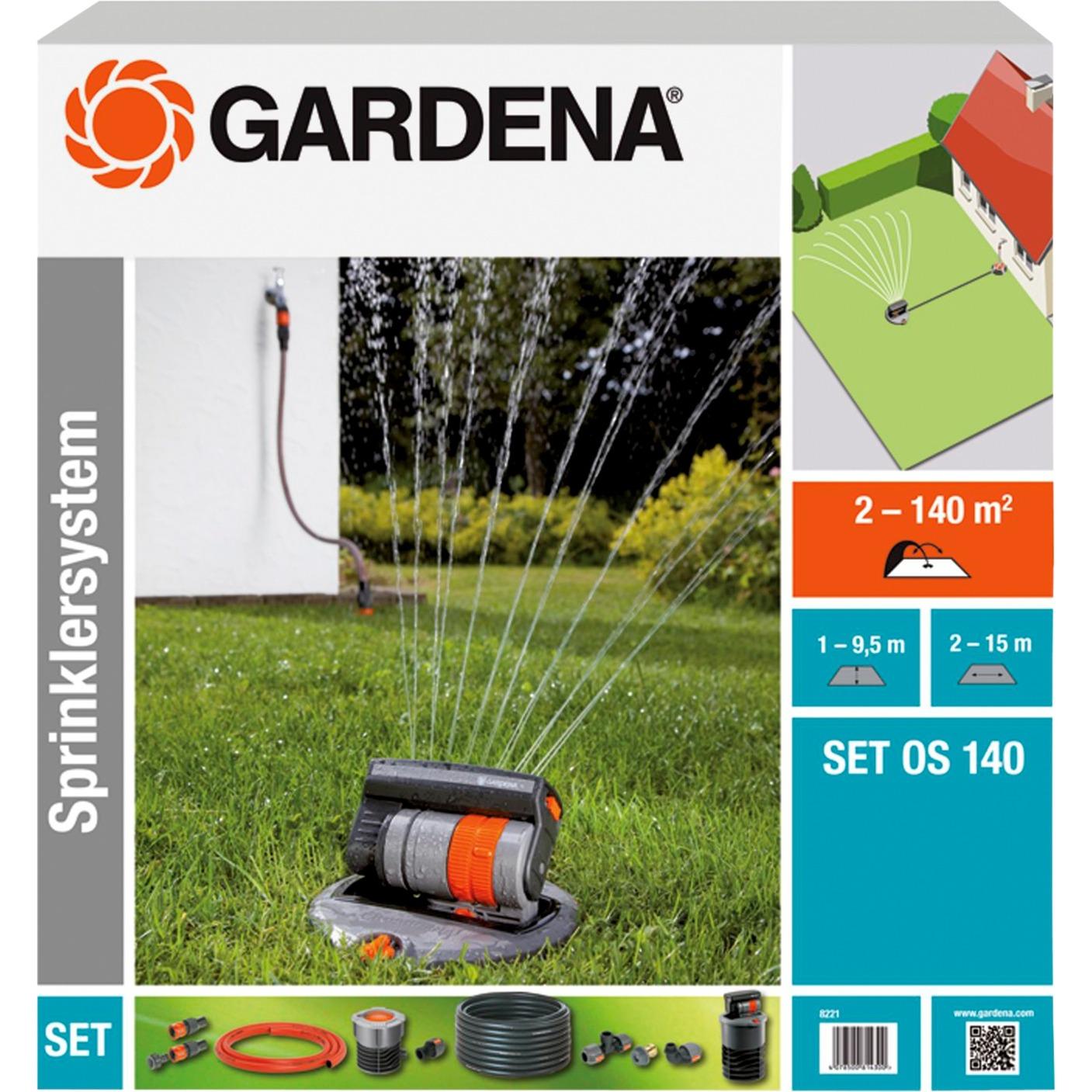 gardena 8361 os 90 mini oscillante prezzi migliori offerte. Black Bedroom Furniture Sets. Home Design Ideas