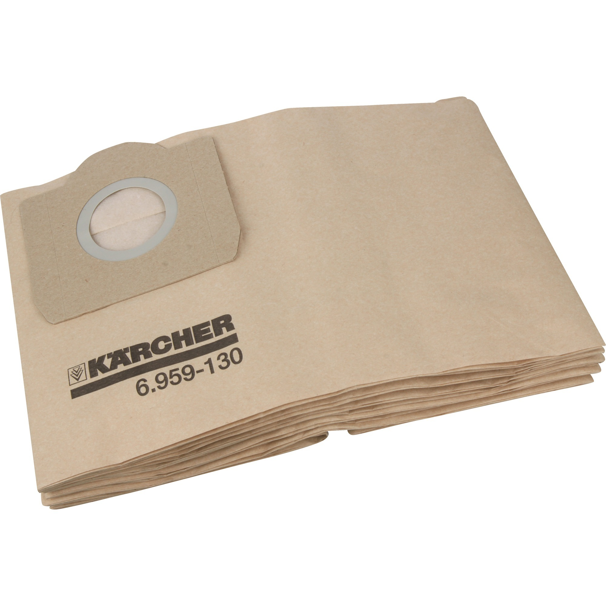 10 Pezzo 6.959-130.0 Aspirapolvere Sacchetto per Karcher