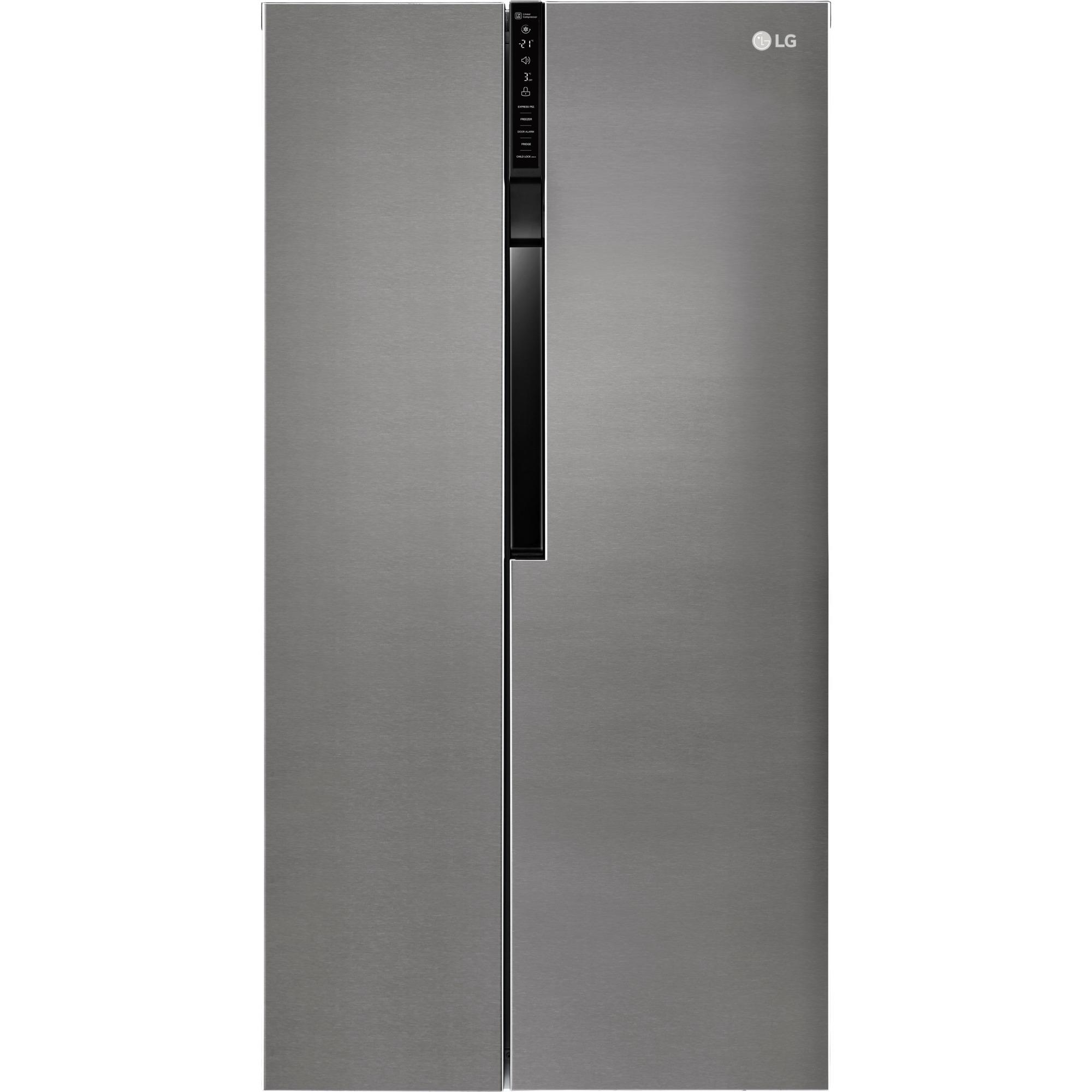 LG GSB360BASZ Libera installazione 613L A++ Grafite frigorifero side ...