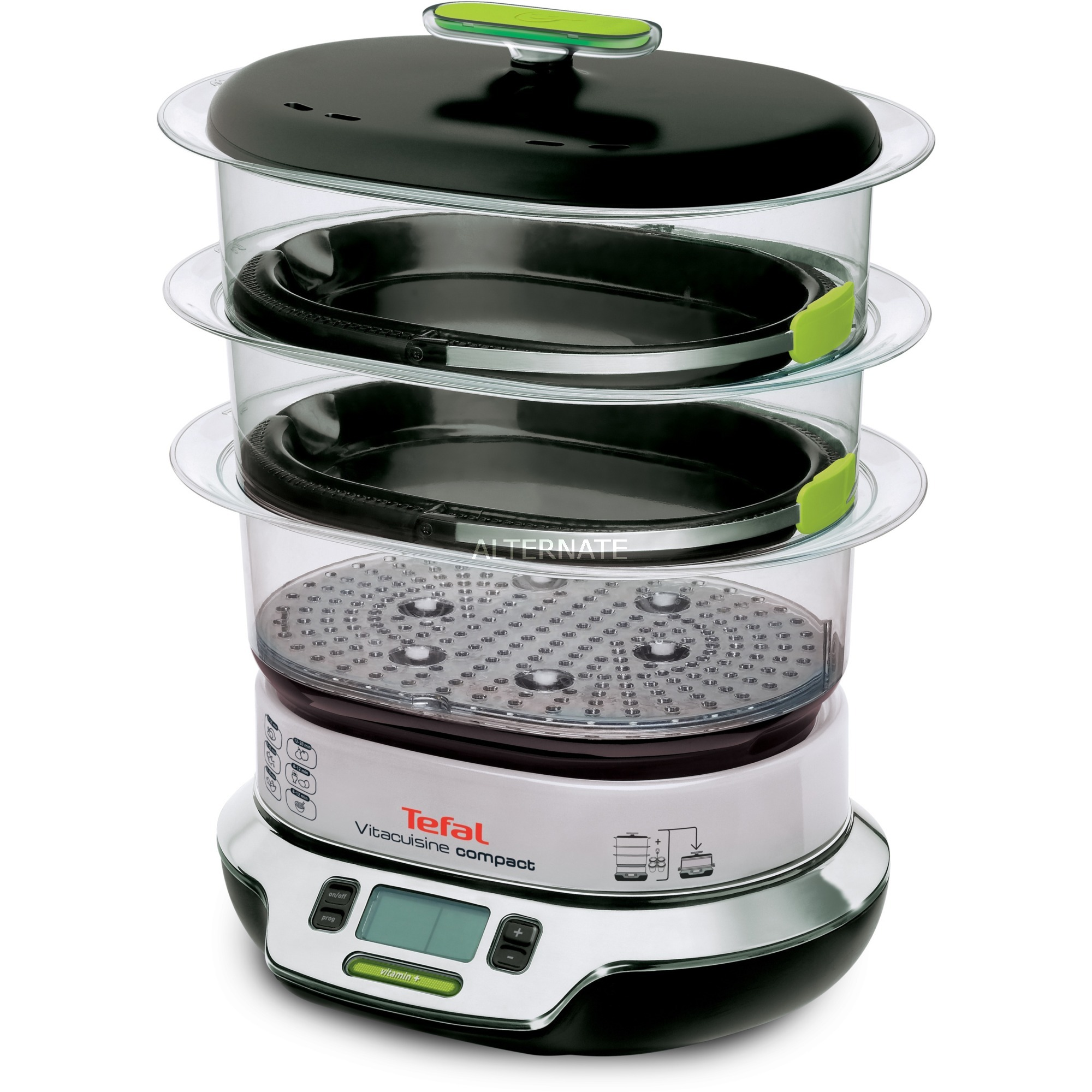 tefal vs4003 vaporiera prezzo e sconti tefal di oggi. Black Bedroom Furniture Sets. Home Design Ideas