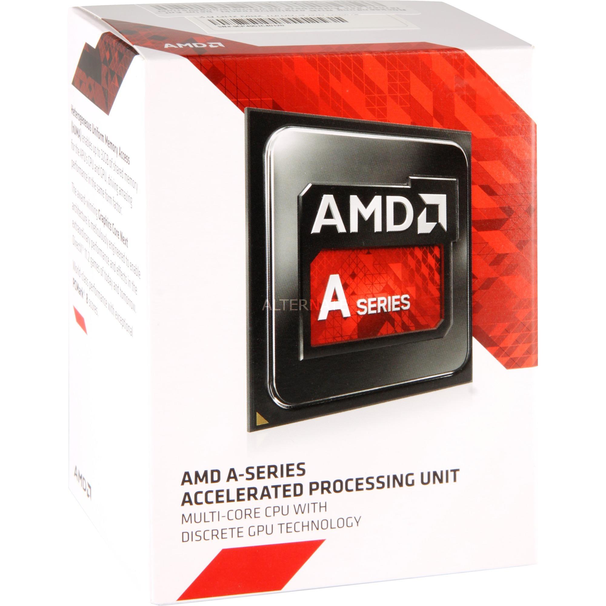 A10-7800 Accelerated Processor, Processore