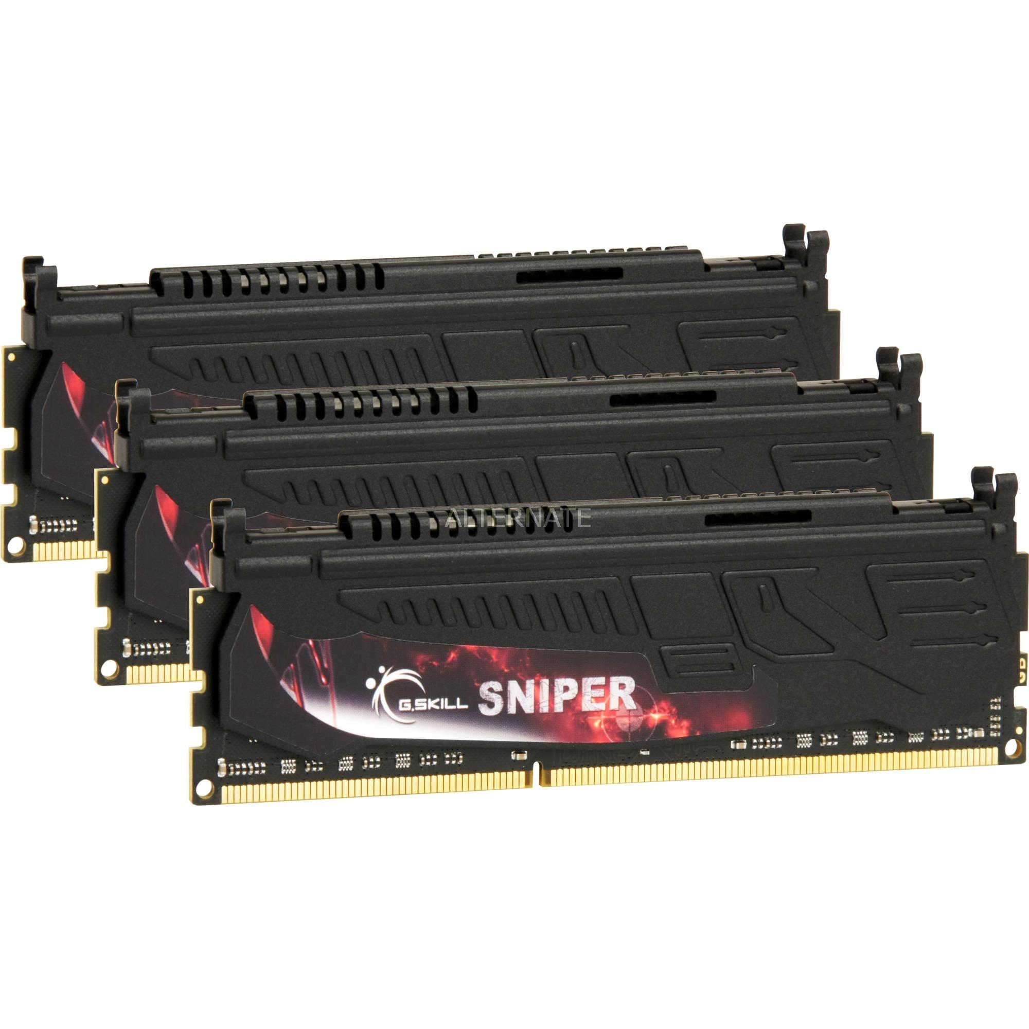 DIMM 12 GB DDR3-1600 Tri-Kit, Memoria
