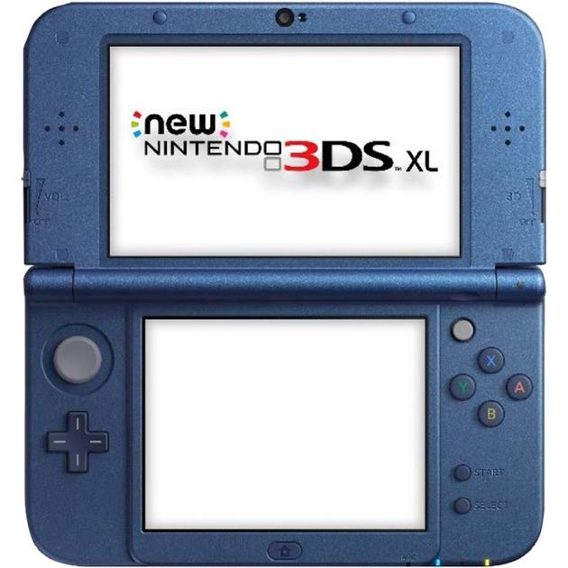 New 3DS XL metallic, Console di gioco