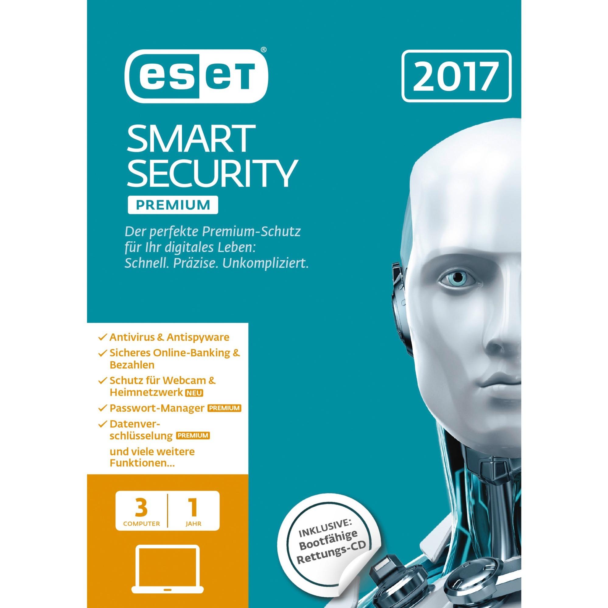 Eset Smart Security Premium 10 O >> Eset smart security 9 1 anno 3 | Prezzo e Offerte Sottocosto